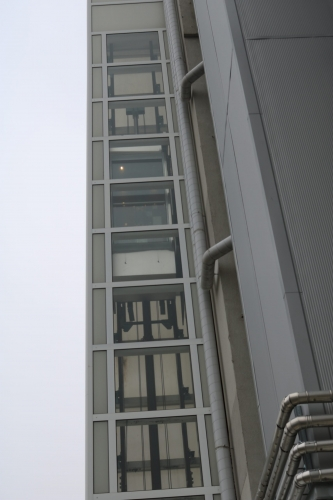 Панорамен асансьор - външна част